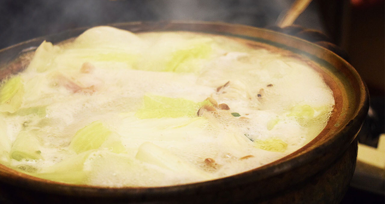 冬はお鍋であったまろう。シメの雑炊が絶品!「天然とらふくちり鍋」